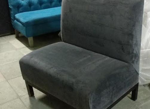 Диван серый 90х65