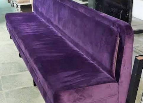 Диван модульный фиолетовый 3 метра