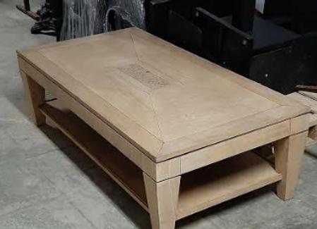 Стол журнальный дуб-пробка, Франция(массив 140х70 см.)