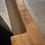 Thumbnail: Столешница дубовая с малиновой вставкой 130х70 см.