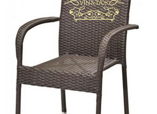 Кресло Джем из искусственного ратанга