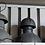 Thumbnail: Cветильник подвесной HK Living металл D-56 (Нидерланды)