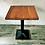 Thumbnail: Стол на подстолье Верона из цельноламельного дубового щита 80х80см.