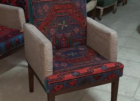 Кресло AGRA -гобелен