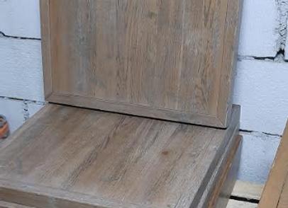 Столешница Брашированный седой дуб 75х75.