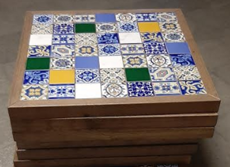 Столешница Дуб- мозайка 70х80