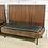 Thumbnail: Дизайнерская скамейка с подушкой (массив,нат.кожа) 140 см.