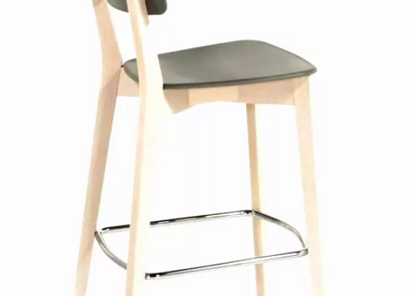 Барный стул Connubia Jelly-серый (Италия)