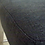 Thumbnail: Мягкий черный стул на винтажных ножках