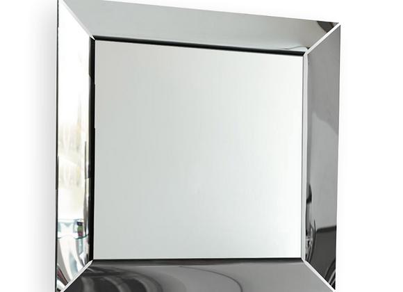Зеркало Калейдоскоп (нерж.сталь) 100х100 см.