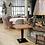 Thumbnail: Стол на деревянном подстолье 75х75см.