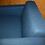 """Thumbnail: """"Комиссионный мебели Винтаж"""".Кресло George Сине-серая Шерсть"""