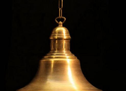 Светильник из латуни «Галонбир»