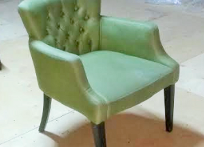 Кресло Сити-салатовое