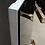 Thumbnail: Высокий шкафчик подвесной Бразилия SIERRA(светлый-чёрное зеркало)