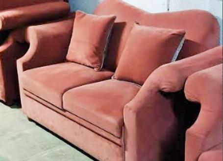 Софа обеденная дизайнерская с подушками160 см.