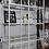 Thumbnail: Стеллаж ВИТШЁ , белый, стекло, 100x175 см