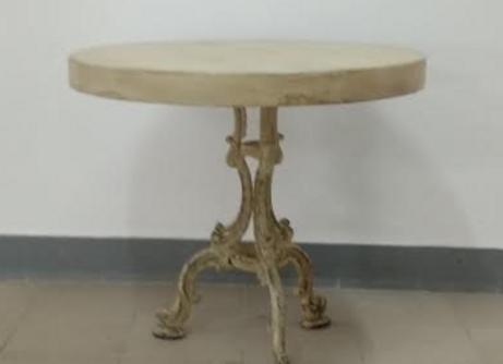 Дизайнерский стол в винтажном стиле 85 см.