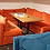 Thumbnail: Кресло трансформер (оранжевое,бирюзовое,синее)) 80х75