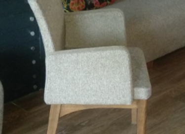 Кресло на деревянном каркасе АК-1589