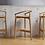 Thumbnail: Барный стул EVO-H-2940(Бук)