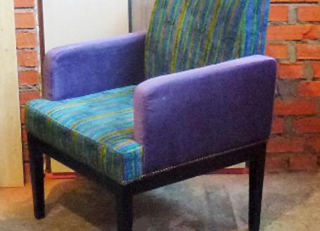 """Кресло """"Агра"""" фиолет"""