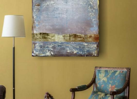 """Интерьерная картина """"Рассвет"""" 100×80 см."""