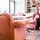 Thumbnail: Софа обеденная дизайнерская с подушками160 см.