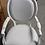 Thumbnail: Стул с подлокотниками (берёза, бел.кожа)