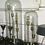 Thumbnail: Настольная лампа колба на 5 лампы Ньюбери