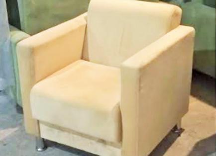 Кресло Алекто 2 персиковое