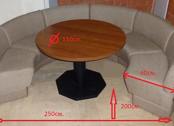 """Модульная мебель """"Круг""""цвет-Беж.! (цена за набор)"""