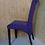 Thumbnail: Мягкий стул на Буковых ножках -фиолетовый.