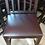 Thumbnail: Барный стул из массива с мягким сиденьем (Выс.пос.-80см)