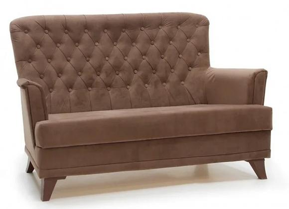 Диван Каприз с подушками (коричневый) 160см.