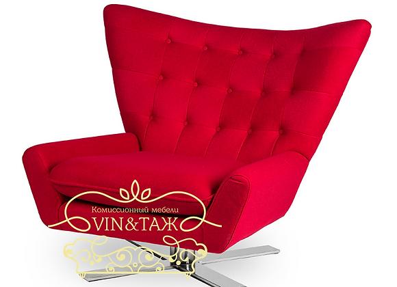 """""""Комиссионный мебели Винтаж"""" кресло  Vioski Louis Chair-Шерсть,кашемир."""