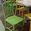 Thumbnail: Стул МАНОН (пластик,металл)-желтый,белый,зелёный,красный цвет.