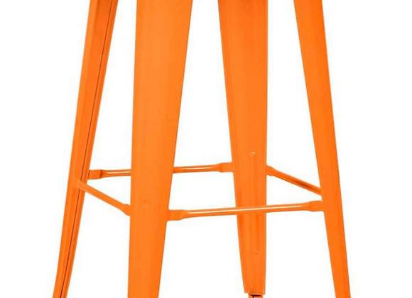 Стул Tolix барный оранжевый
