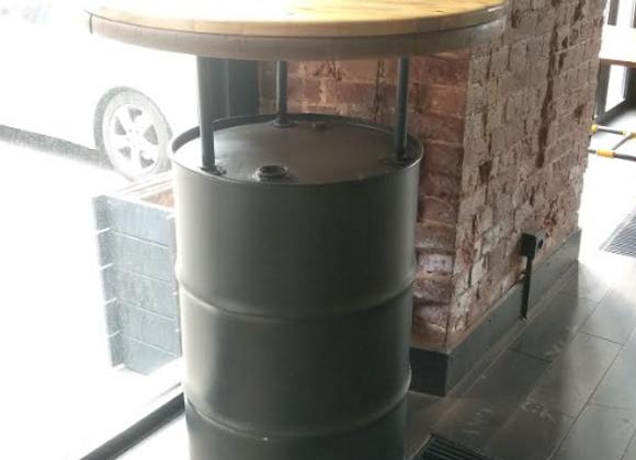 """Барный стол """"Бочка""""d-90 см."""
