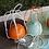 Thumbnail: Дизайнерский светильник Multicolor Art (серый,оранжевый,бирюзовый)