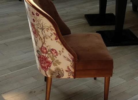 "Кресло ""Ланкастер"" цветы"