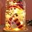Thumbnail: Ваза декоративная стеклянная купольная (20-29 см.)