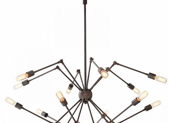Люстра Паук Lamp Ceiling Spider 12 — Eichholtz