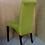 Thumbnail: Мягкий стул на Буковых ножках -салатовый.