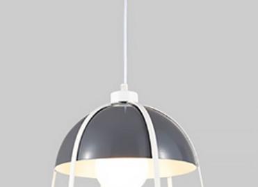 Дизайнерский светильник Multicolor Art (серый,оранжевый,бирюзовый)