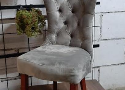Стул с каретной стяжкой (ножки-вишня)