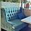 Thumbnail: Диван Глазго (синий,бирюзовый) 140 см.