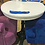 "Thumbnail: Столешница ""Молочный дуб"" d-70 см."