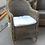 Thumbnail: Кресло Равенна соломенного цвета с подушкой
