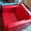 Thumbnail: Кресло Алекто 2 красная кожа